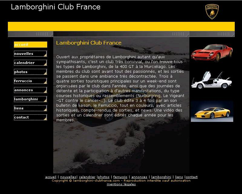 Lamborghini Club of France