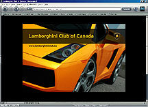 Lamborghini Club of Canada
