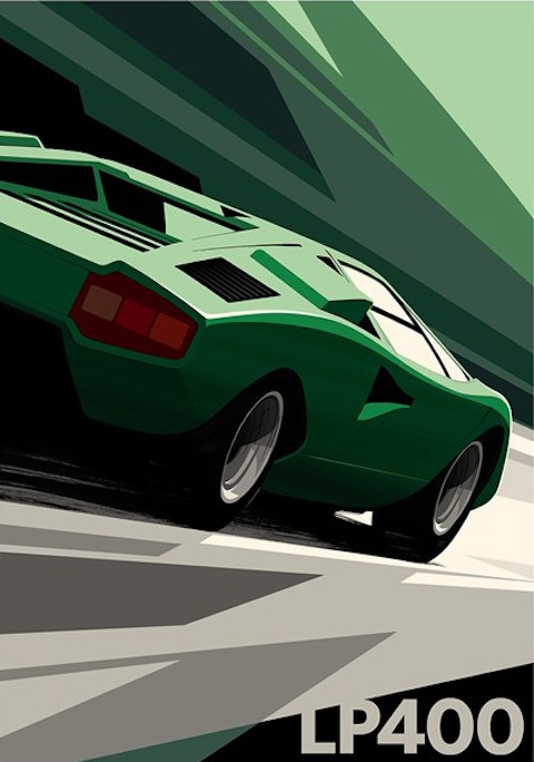 Guy Allen Countach LP400