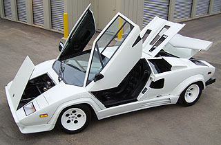 Countach All Opened