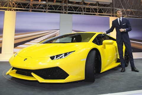 The New Huracan