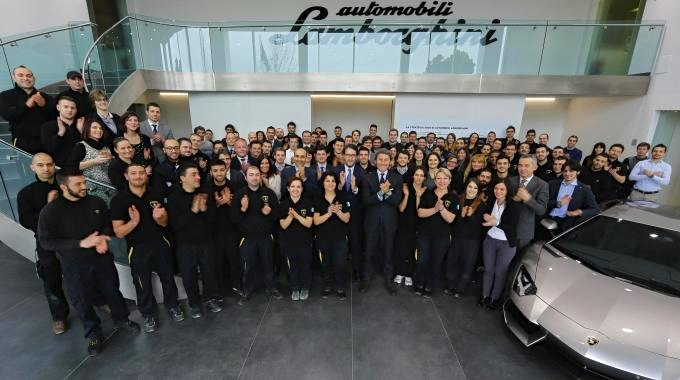 New Lamborghini Hires