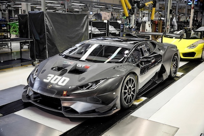 Lamborghini Squadra Corse sets a new record with 300 racing Huracans produced in 36 months