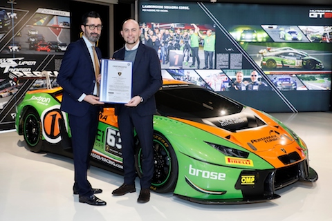 Lamborghini Squadra Corse sets a new record with 300 racing Huracáns produced in 36 months