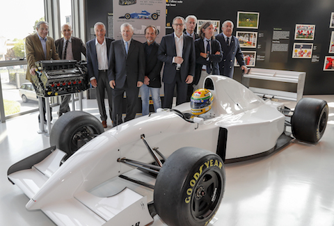 Exhibition dedicated to Ayrton Senna inaugurated
