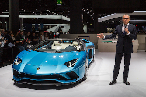 Aventador S Roadster introduction