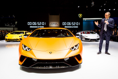 The new Lamborghini Huracan Performante