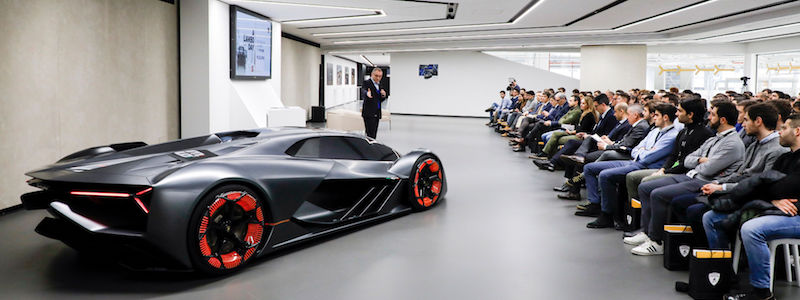 Innovation Takes Center Stage At Lambo Day