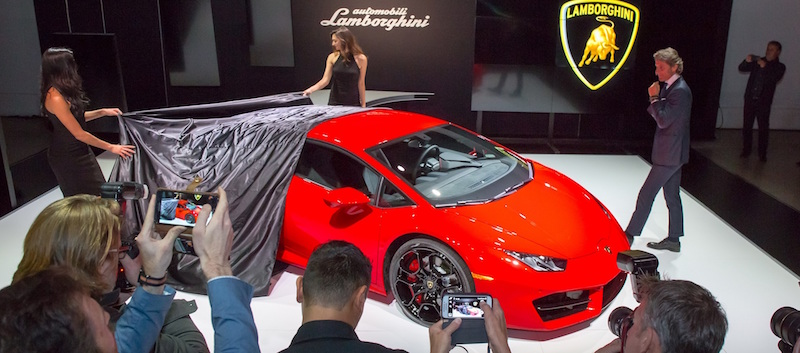 Huracan LP580-2 Revealed