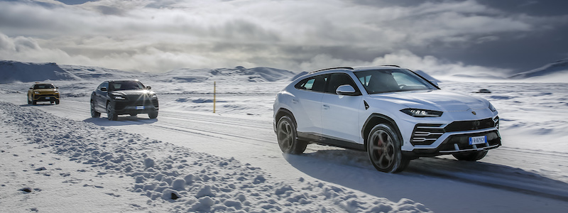 Lamborghini Avventura expedition of Urus to discover Iceland