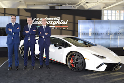 Huracan Performante Makes North American Debut