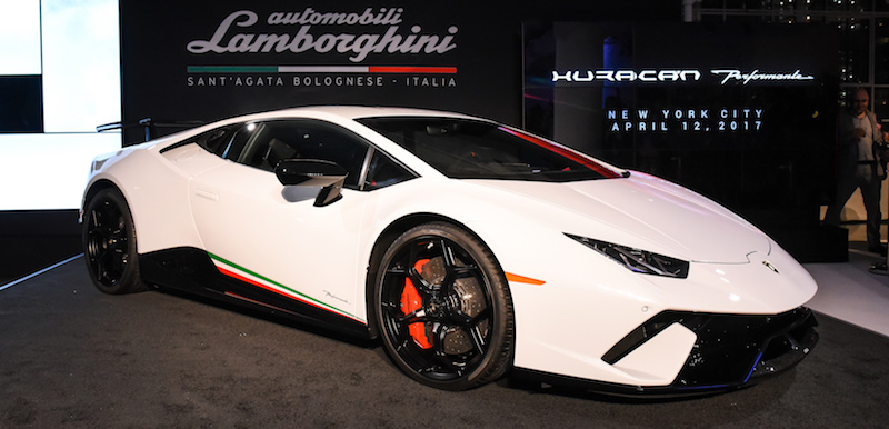 Lamborghini Huracán Performante North American Debut