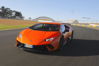 Huracan Performante is a record setter