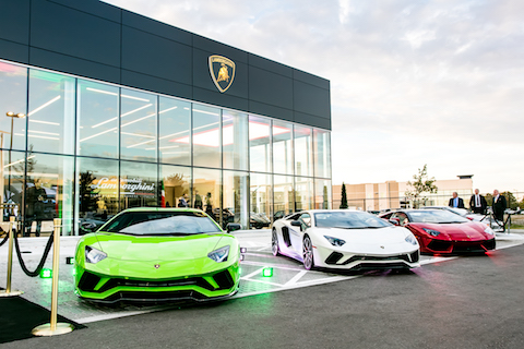 Lamborghini Opens Two New Dealerships in North America