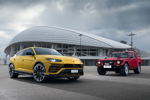 Lamborghini Urus around the world in four months