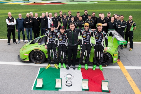 Lamborghini wins Daytona 24 hours