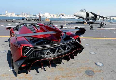 Veneno Roadster World Premier