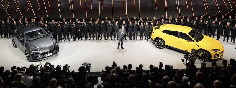 Lamborghini Urus Introduction